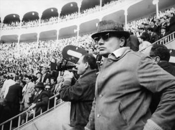 Francesco Rosi (1922-2015) directing his 1965 film Il momento della verità