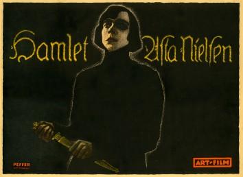 Franz Peffer, Hamlet, 1920; Kirk Hammett Horror and Sci-Fi Memorabilia Collection.