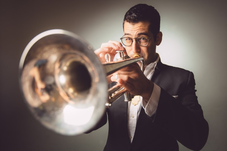 Trumpeter and composer Itamar Borochov; Photo: Ronen Goldman