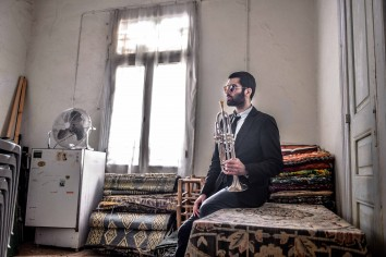 Trumpeter and composer Itamar Borochov; Photo: Aviram Valdman