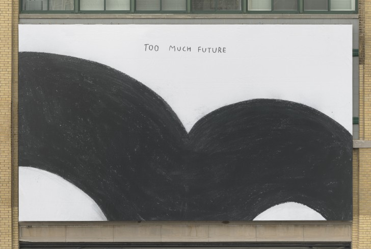 Christine Sun Kim (b. 1980), Too Much Future, 2017 (installation view, Whitney Museum of American Art, New York, January 29, 2018–). Collection of the artist. Photograph by Ron Amstutz